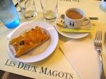 Les Deux Magots, Paris, Winter 2013