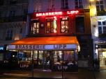 Brasserie Lipp, Paris, Winter 2013