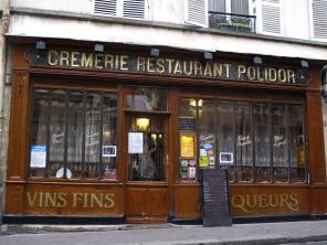 Polidor, rue Monsieur-le-Prince, Paris, Winter 2013
